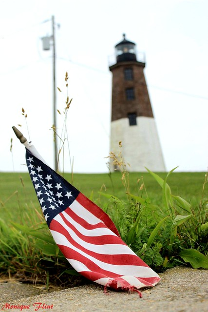 Patriotic Lighthouse