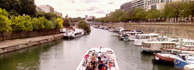 Paris, Bassin de l'Arsenal
