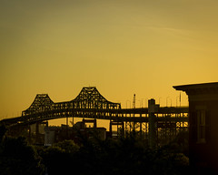 Tobin Bridge from Bunker Hill