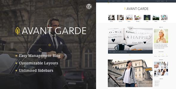 AvantGarde v1.1.6.1 - WordPress Blog Theme