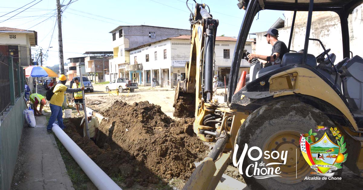A buen ritmo los trabajos en calle 24 de Mayo