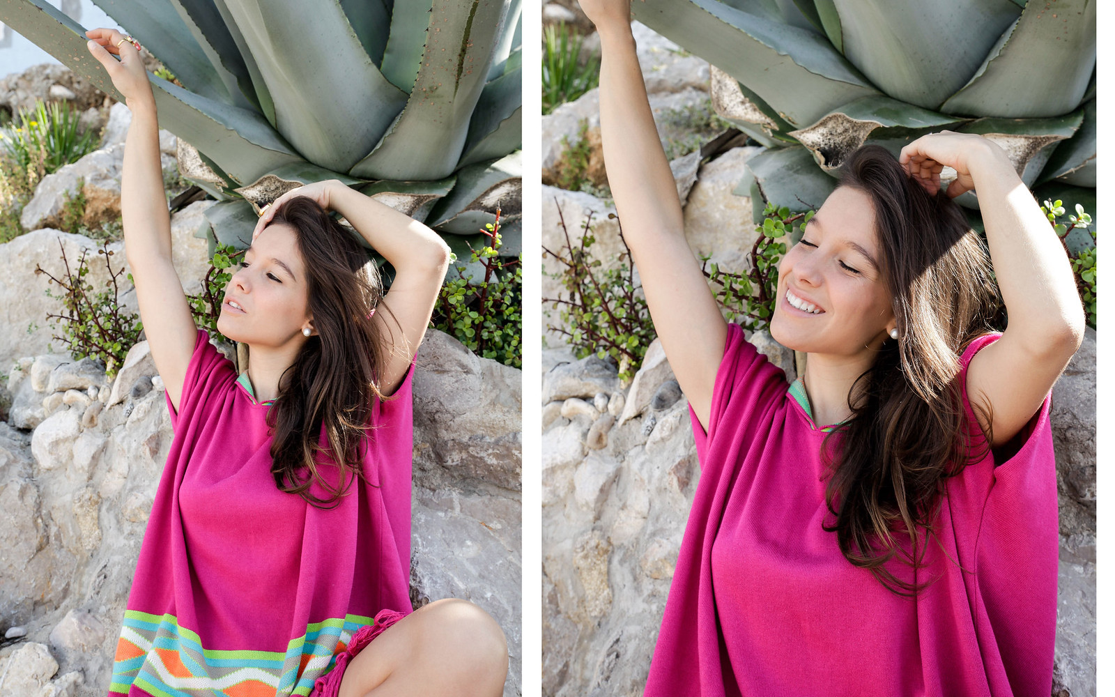 04_Poncho_rosa_RÜGA_Laura_Santolaria_Theguestgirl_Ambassador_influencer_barcelona