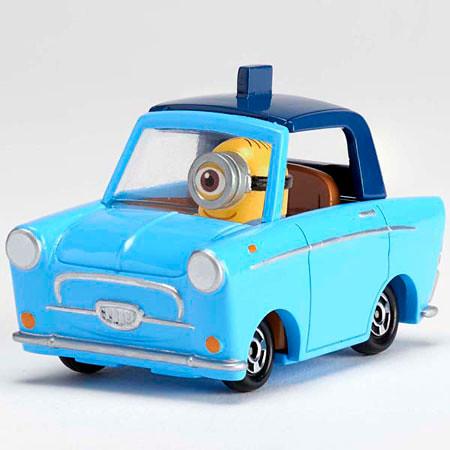 TOMICA 多美小汽車 嶄新系列《黃色小小兵》 R03 ミニオン(スチュアート)&ルーシーの車