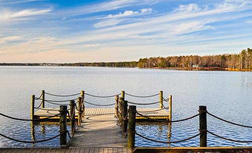 midlothianvirginia dock landscape virginia chesterfieldcountyvirginia winter dailyphoto chesterfieldcounty brandermill swiftcreekreservoir lake midlothian d5000 pauldiming unitedstates us