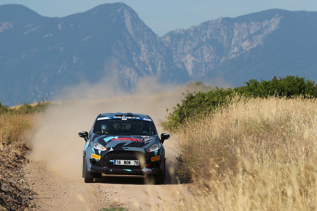 16 TOKTAS Ismet (tur) and BOSTANCI Sedat (tur) action during the European Rally Championship 2017 - Acropolis Rally Of Grece - From June 2 to 4 - Photo Gregory Lenormand / DPPI