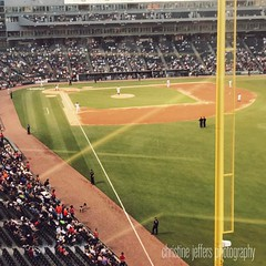 Anyone at the game?  #whitesox #soxgameday #mlb #baseball #chicago #chitownphotogs #itshot