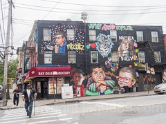 NYC Arts Cypher Building Mural (2016) by Sipros, Stapleton, Staten Island, New York City