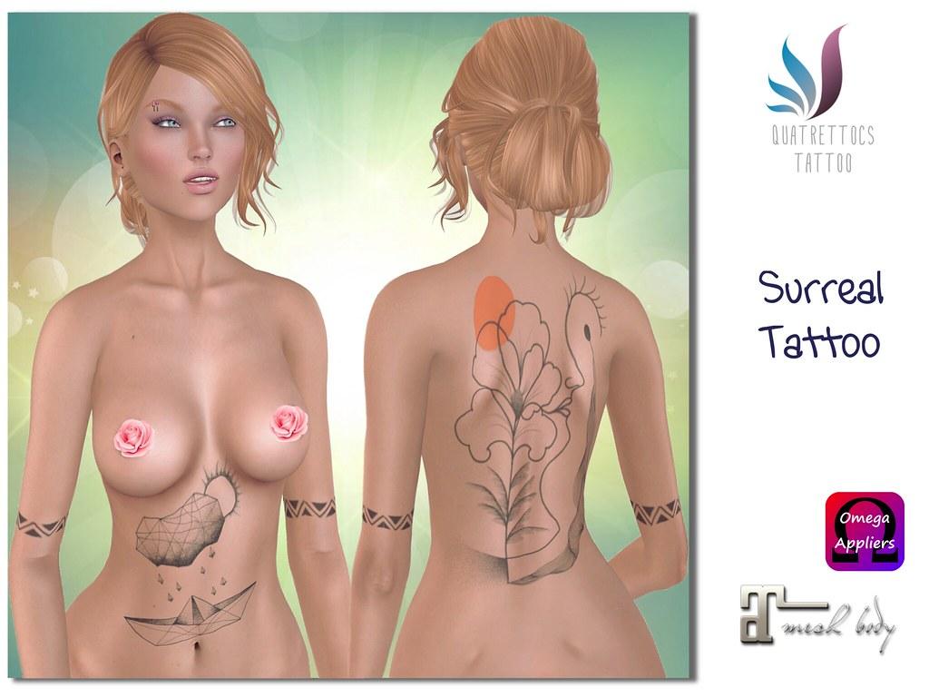 Surreal Tattoo - SecondLifeHub.com