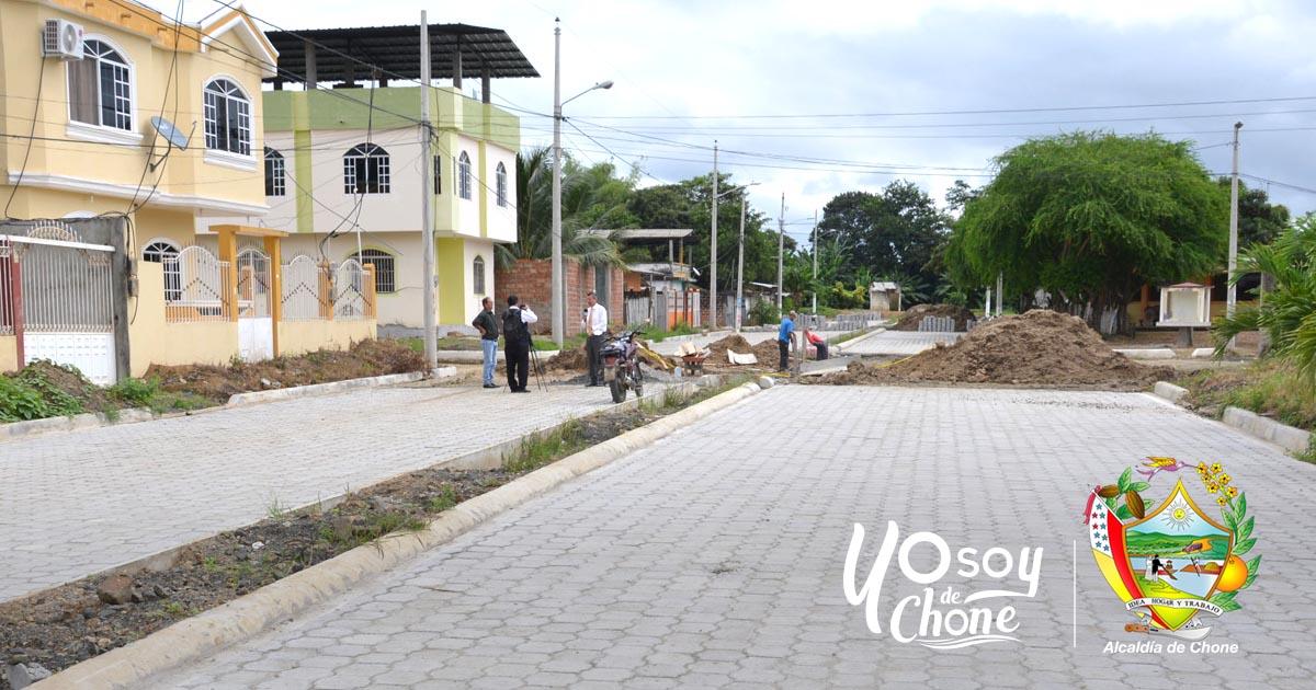 En ciudadela San Rafael continúa la obra municipal