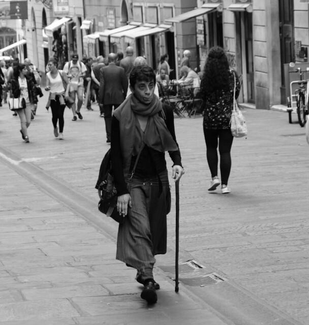 Gypsy in Genoa....