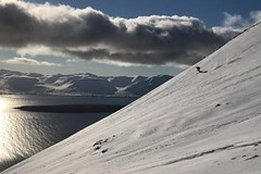 Skialp na Islandu - poklad konkurující Alpám