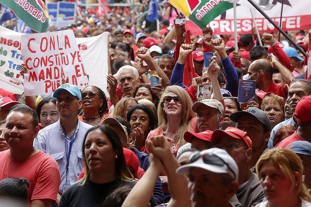 Movilización en defensa de la Asamblea Constituyente, el 4 de mayo - Créditos: AVN