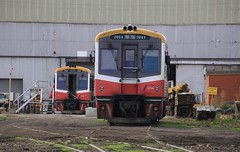 7011 and 7012 are sitting in SSR's Bendigo North workshop for refurbishment and maintenance