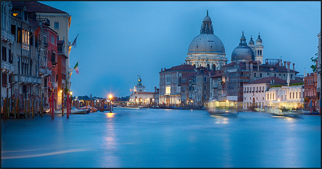 Blue hour at Canal Grande