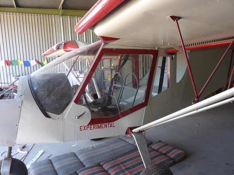 Pilot door wrapped