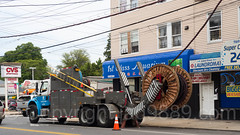 Con Edison Cable Truck, Rosebank, Staten Island, New York City