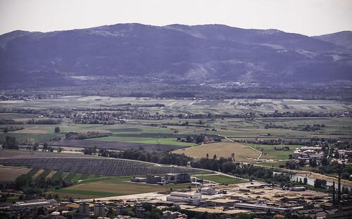 posavje panorama hillsmountains