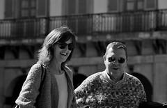 Candid portrait, Plaza de la Constitucion, San Sebastian
