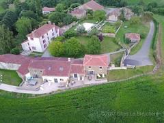 Première vue aérienne de La Bréjolière