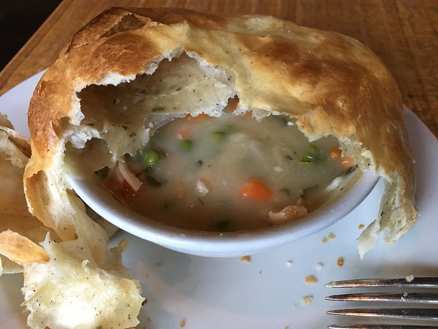 Chicken pot pie - The Grove