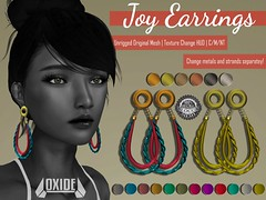 OXIDE Joy Earrings @ The Thrift Shop 16.0