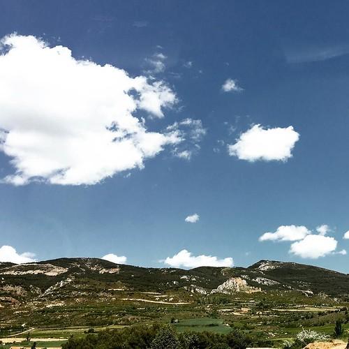 #spain #aragon #paisaje #landscape #nubes #clouds
