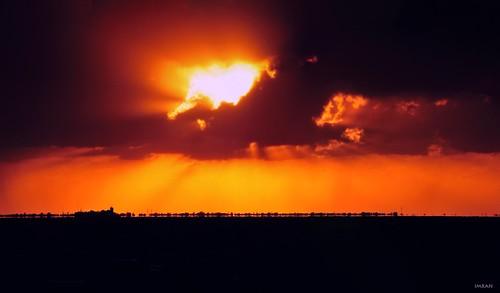 apollobeach bird d300 florida imagination imran imrananwar nikon panorama pelican shapes sunset surreal tampa tampabay