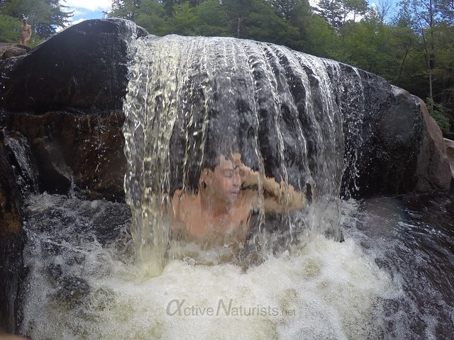 naturist 0007 Potholers, Adirondacks, New York, USA