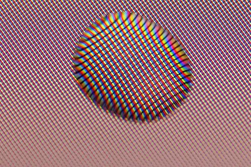 Colorfull drop