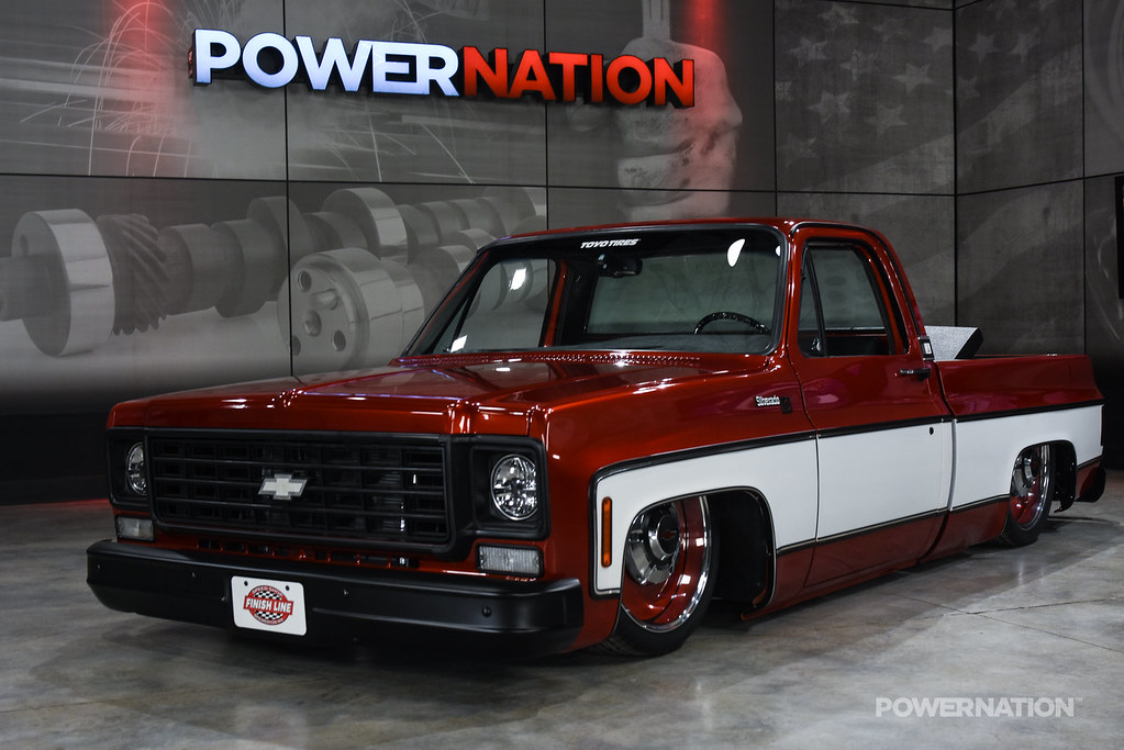 Cool Cherry Chevy C10