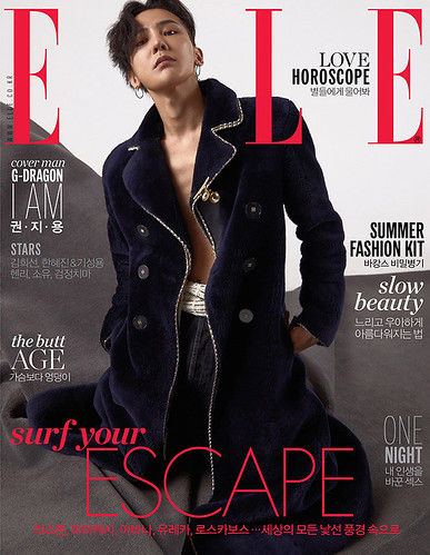 G-Dragon ELLE Korea June 2017 (5)