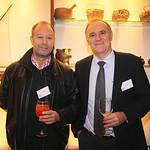 Eduardo Ergas, Ecocopter; Italo Ozzano, Cámara Chilena de la Construcción