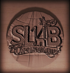 Logo on the Auditorium at SL14B