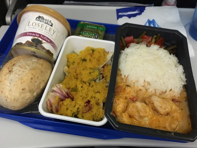 Chicken Thai curry - United Airlines