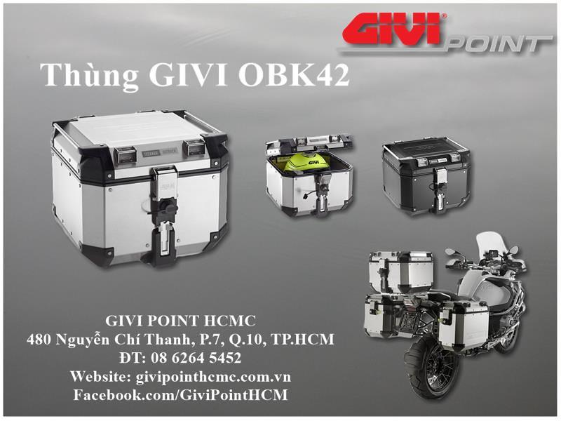 Thung xe Givi - 24