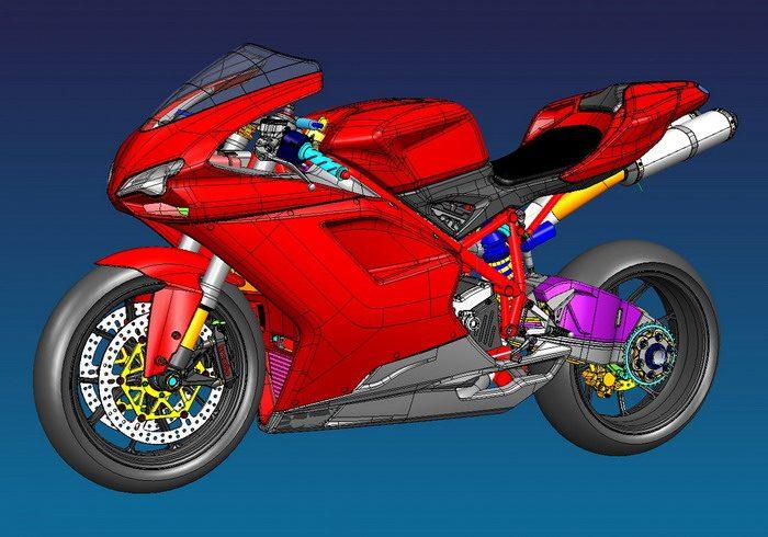Ducati 1098 2007 - 8