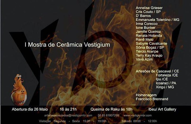 I mostra de cerâmica vestigium fortaleza 2017