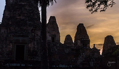 Sunset at Pre Rup Temple, Siem Reap, Cambodia
