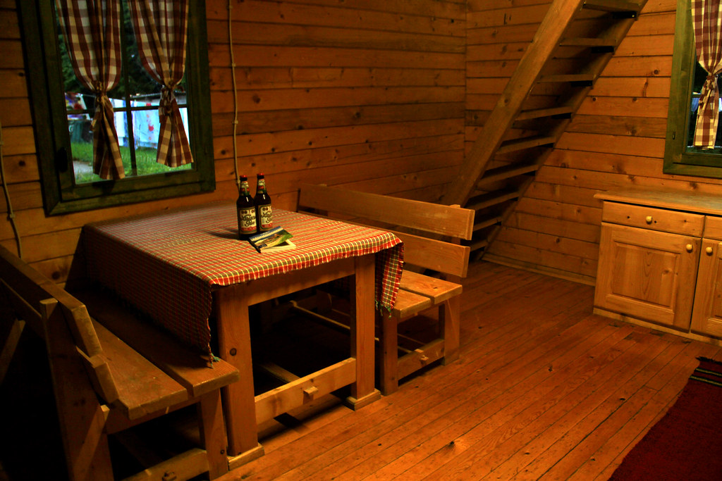 Wooden chalet, Eko Katun Stavna