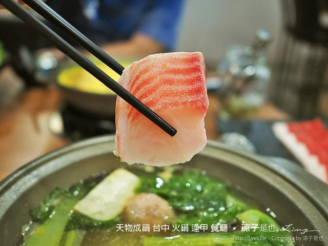 天物成鍋 台中 火鍋 逢甲 餐廳  11