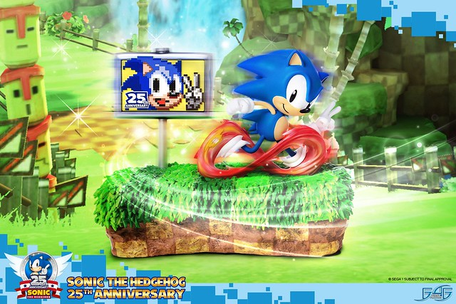 First 4 Figures 《音速小子》25 週年紀念版 Sonic The Hedgehog 25TH Anniversary 普通版/限定版