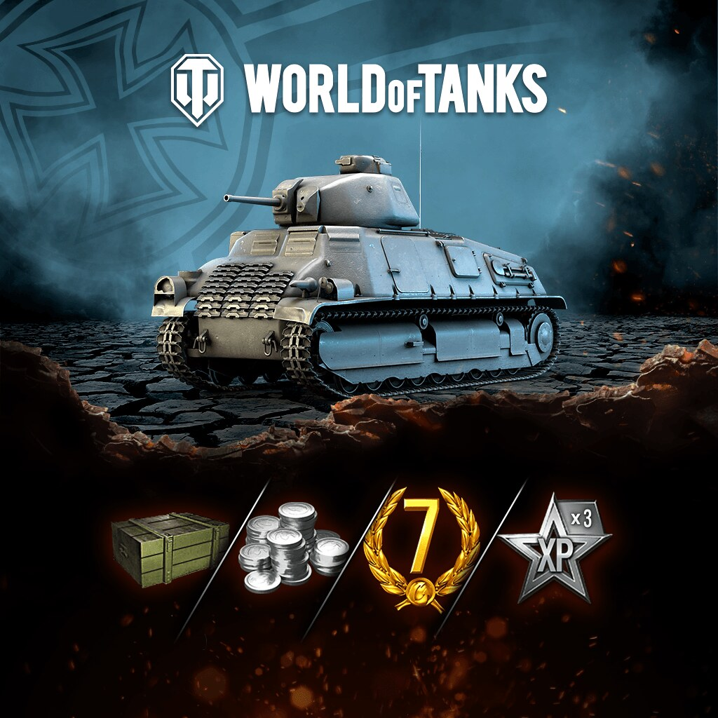 World of Tanks Dunkirk Starter Edition