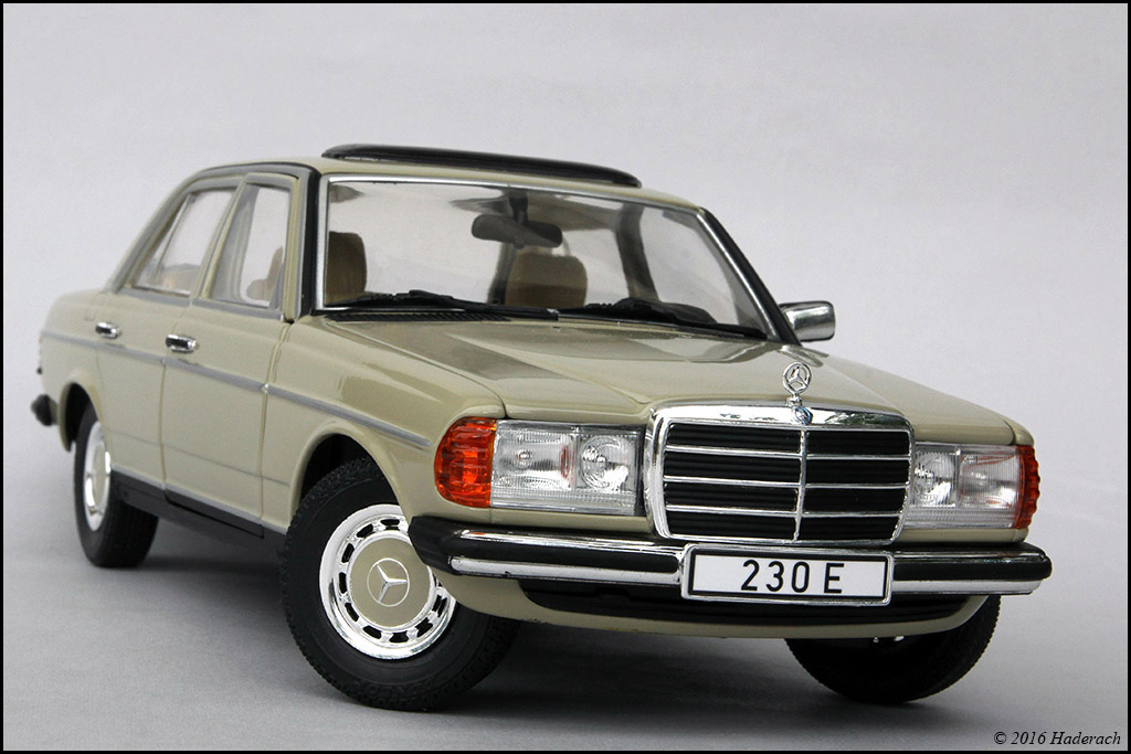 Mercedes benz 230e w123 revell dx sedan coupe for Mercedes benz 230e