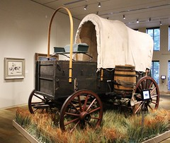 Pioneer Wagon at the Briscoe Museum