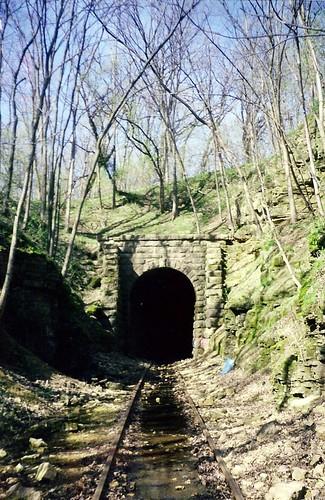 Stewart Tunnel between Belleville and Monticello