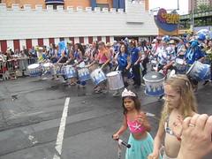 Millie at the 2017 Mermaid Parade