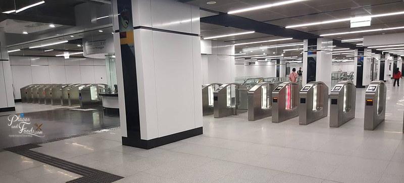 MRT Merdeka Station gates