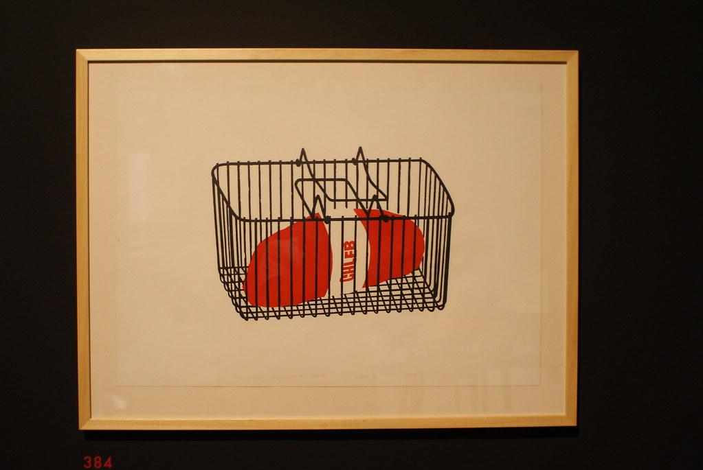 """""""Pain"""" : Oeuvre d'art moderne du Musée National de Cracovie."""