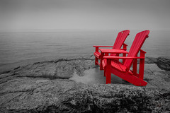 Park Canada Red Chair
