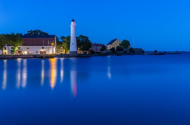 Twilight Karlskrona, Sweden (part of Unesco world heritage site
